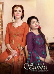 TM Sahiba Pashmina Winter Suits Catalog Collection 2020