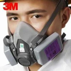 3M(TM) 3M 6200 Mask With 7093 Particulate Filter Safety Mask