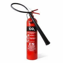 Carbon Steel A CO2 Type Fire Extinguishers, For Industrial, Capacity: 5Kg