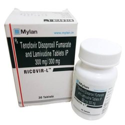 Tenofovir Disoproxil Fumarate and Lamivudine Tablets