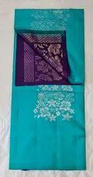 Sky & Indigo Colors Silk Saree
