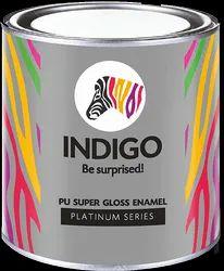 Oil Based Paint Emulsion Indigo Pu Super Gloss Enamel, Packaging Size: 1 Liter