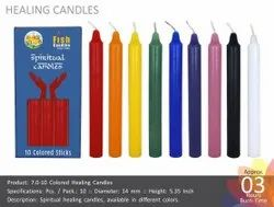 Colored Healing Candles 7-10
