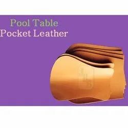 JBB 6 Pcs Leather Pool Table Pocket