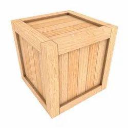 Pine wood Industrial Wooden Packaging Box