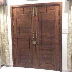 Interior Designed Wooden Double door