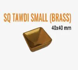 SQ Tawdi Small Brass Drawer Knob