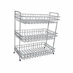 Veg Storage Mesh Rack