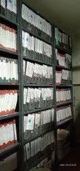 Narayani Enterprises Dark Gray File Storage Racks, For Office