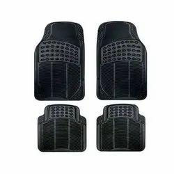 Black PVC Car Universal Packy Poda Foot Mats / Car Matting
