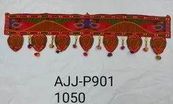 Designer Velvet Toran Bandarwal