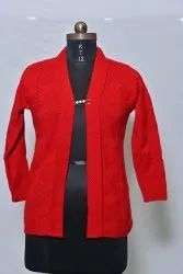 603 Woolen Ladies Cardigan