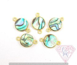 Abalone Bezel Gemstone Jewelry