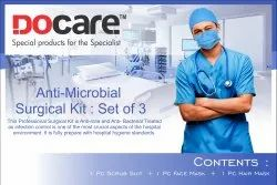 Anti-Microbial Surgical Kit: Set Of 3