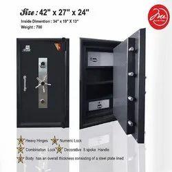 Heavy Hinges Single Door Security Safe