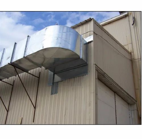 paint booth exhaust ducting