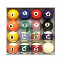 Chinese Pool Table Ball Set