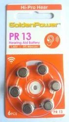 Golden Power 13 Hearing Battery