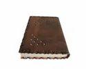 Designer Leather Binding Journal