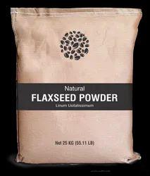 Herbs & Crops Flax Seed Powder, Packaging Size: 25 Kg, Packaging Type: Bag