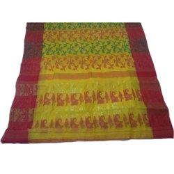 Casual Wear Cotton Fancy Jamdani Saree, Without Blouse, 5.5 m