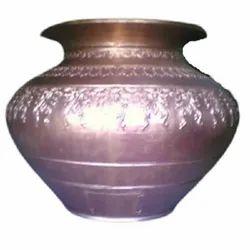 Silver FRP Nirmalya Kalash, For Temple
