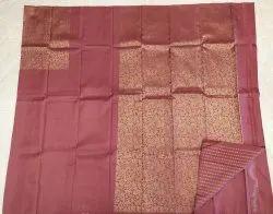 Brown Tone Silk Saree