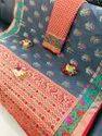 Festive Wear Banarasi Silk Saree With Zari Woven Paloo