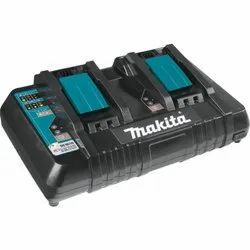 Makita DC18RD 18V Lithium-Ion Dual Port Rapid Optimum Charger, For Power Tool