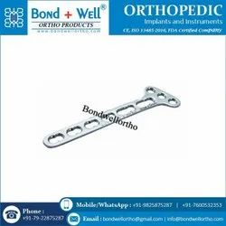 Orthopedic Small T Oblique Angled Plate