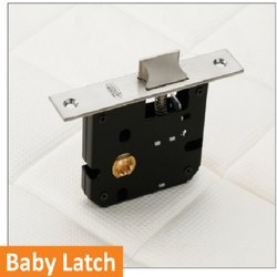 Baby Latch Brass Mortise Handle