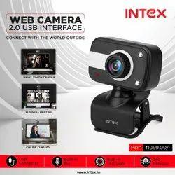 Camera And Cable 640 X 480 Intex Webcam, Model Name/Number: Web Camera