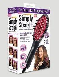 Handy Black Simply Straight (The Brush That Straightens Hair)