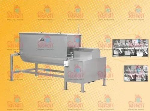 Ribbon Blender Masala Mixer Machine