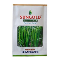 Light Green Chandani F1 Hybrid Chilly Seeds, Packaging Size: 10 Gm