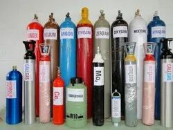 D-Type (46.7 Litre) Empty Industrial Gases Cylinders