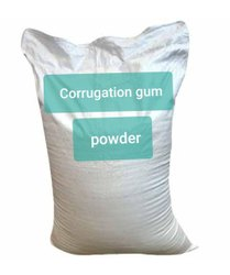 Neutral corrugation gum powder