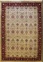 Brown Printed Double Weft Carpet
