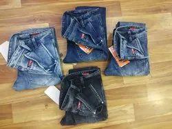 Plain 01 Men Cotton Jeans, Waist Size: 28 to 34