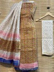 Maheshwari kalamkari print suits