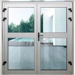 Office Aluminum Glass Door