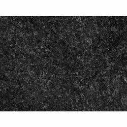 Polished Black Natural Granite Slab, For Flooring, Thickness: 18 mm