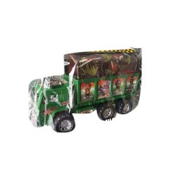 Plastic Big Military Truck Toy