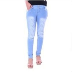 Prince Fashion Skinny Ladies Ripped Jeans