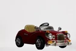 Wheel Power Baby Battery Operated Ride On Vintage Car Maroon, Capacity: 35-40 Kg