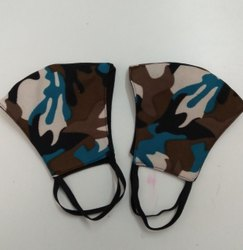 Army Print Camouflage Mask