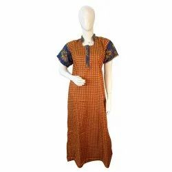 Nighty Products in Cotton Material in Boutique finish including Overlock