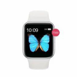 Rectangular Analog T500 Women Office Wrist Smart Watch