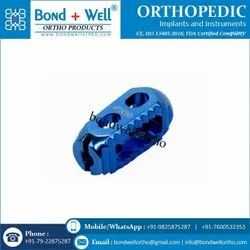 Orthopedic Implants Re Cage For Cervical Verna Bran Fusion
