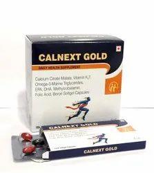 Calcium Citrate Malate Vitamin K2-7,Methylcobalamin,DHA,Folic Acid, Boron  Softgel Cap